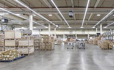Rhenus optimiza la gestión de almacén, en su delegación de Bilbao