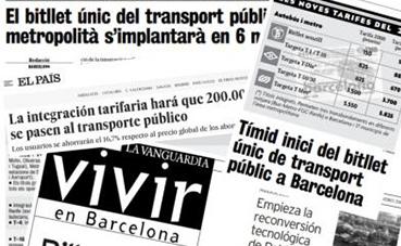 Veinte años de integración tarifaria en el transporte de Barcelona