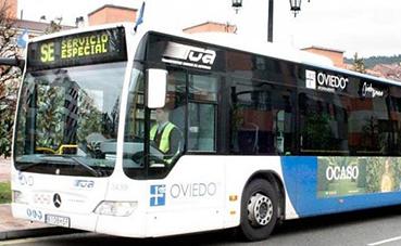Gratuidad del autobús urbano en Oviedo, por el Covid-19