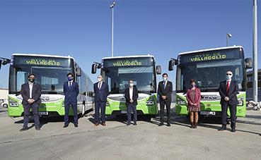 Iveco Bus entrega a Auvasa, los primeros autobuses Urbanway de GNC