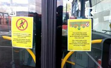 EMT Valencia elimina el pago en efectivo, por el Covid-19