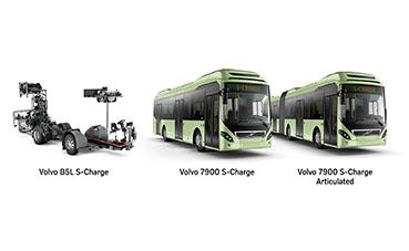 El nuevo autobús de Volvo conduce más tiempo, y sin emisiones