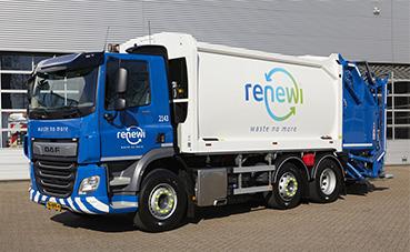 Renewi solicita 200 camiones DAF para la zona del Benelux