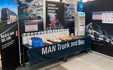 "Iniciativa de MAN Truck & Bus en España con ""Café en MAN"""