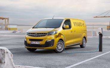 Nuevo Opel Vivaro-e, eléctrico y libre de emisiones