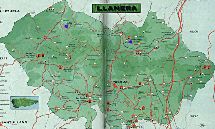 Asturias saca a información pública el trazado de la variante de Posada de Llanera