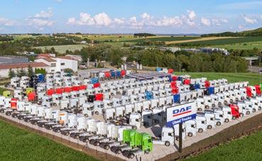 DAF Trucks amplía su red de camiones usados en toda Europa
