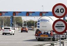 Actualización de las tarifas en las autopistas desde enero