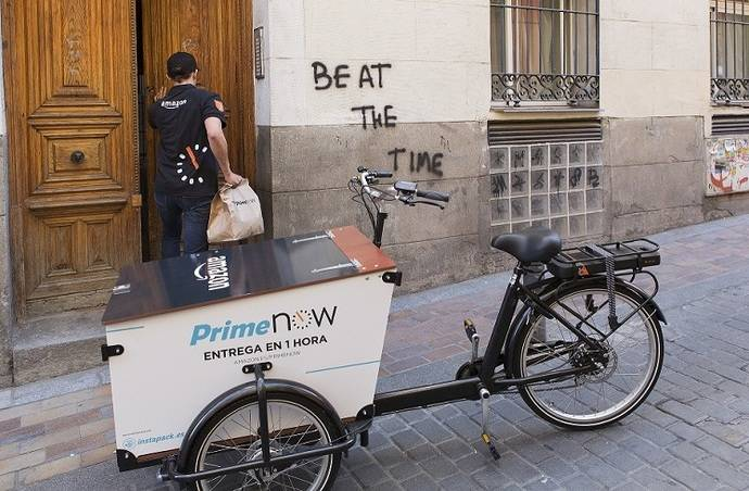 Prime Now de Amazon Madrid: entregas en una hora