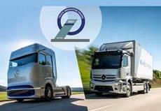 Premiados los Mercedes-Benz eActros y Mercedes-Benz GenH2 Truck