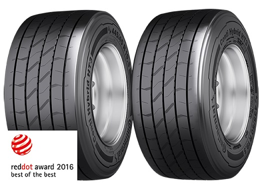 Conti Hybrid HT3 premiados con el 'Red Dot: Best of the Best'