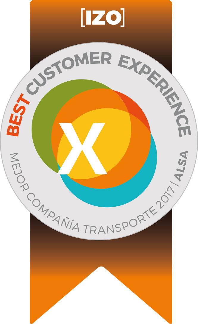 Alsa revalida el sello BCX a la compañía de transporte con mejor experiencia de cliente