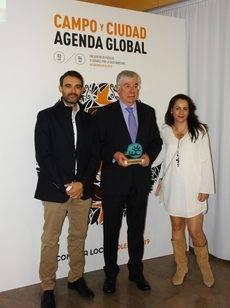 Illescas premiado por Plataforma Central Iberum