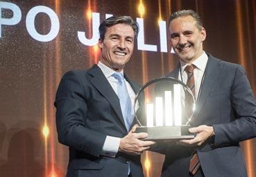 Grupo Julià, Premio EY que reconoce su Trayectoria