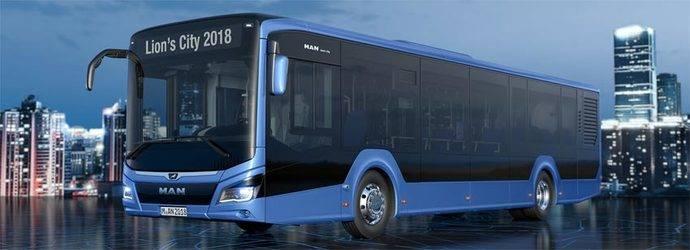 El autobús premiado con el galardón iF Design Award 2019.