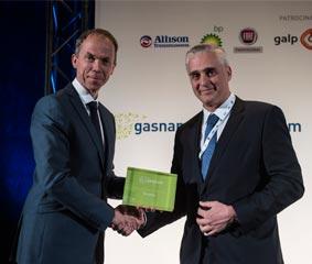 El GNL de Scania recibe el premio a la innovación
