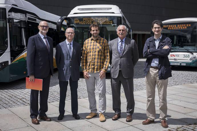 Doce nuevas villavesas híbridas para Pamplona