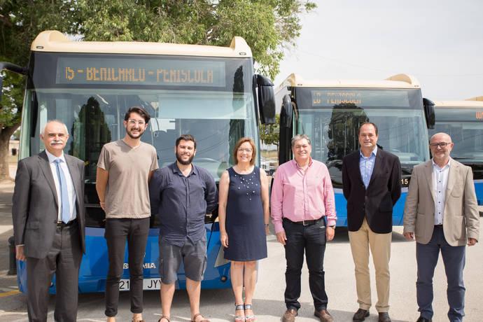 Autos Mediterráneo incorpora cuatro autobuses de la marca Scania