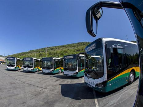 El Transporte Urbano de Pamplona incorpora 10 híbridos MAN