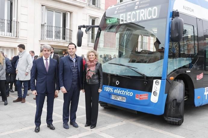 Primer autobús 100% eléctrico en la flota del Consorcio Regional de Madrid