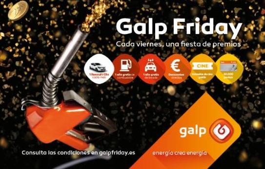 Llegan los Galp Friday con la nueva campaña para clientes de Galp