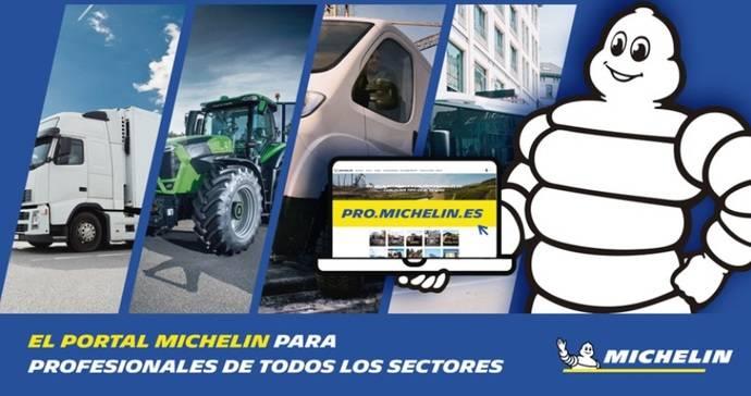 Michelin lanza un portal para profesionales de actividad industrial