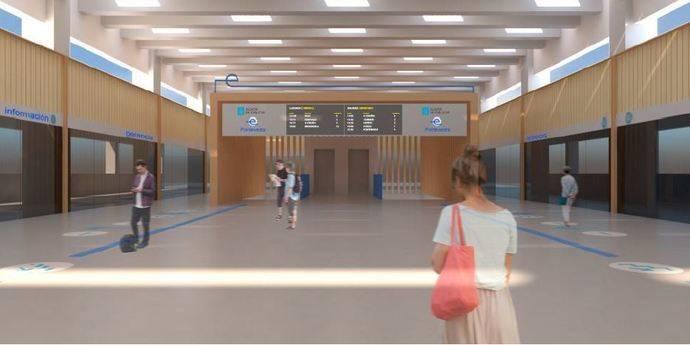 Xunta destaca la licitación de obras estación intermodal de Pontevedra