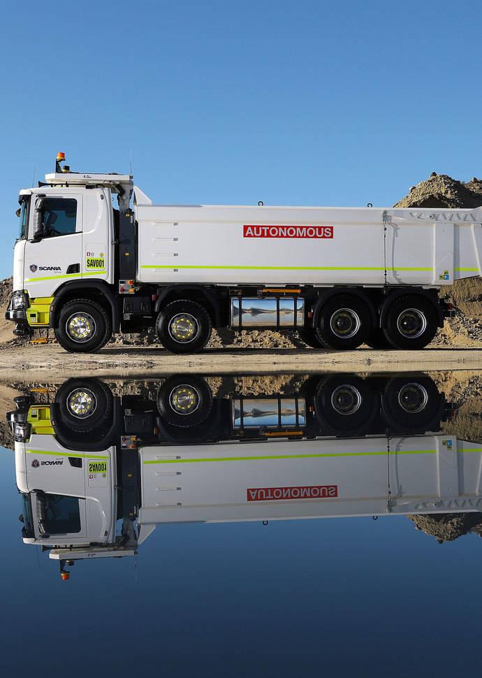 Scania y Rio Tinto, juntos en una mina de Australia