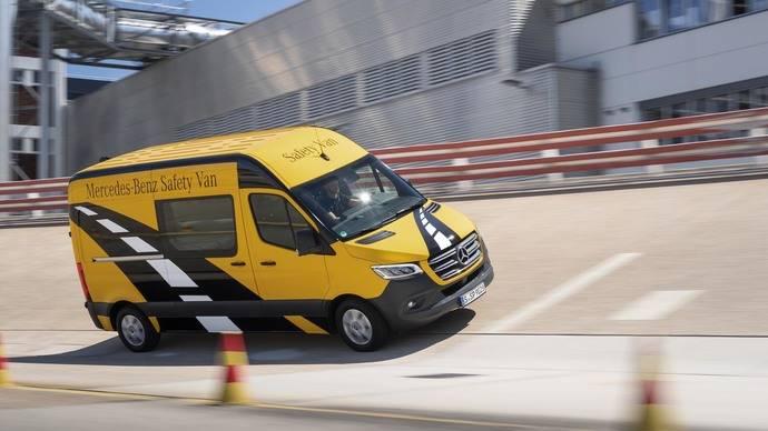Las furgonetas de Mercedes-Benz poseen avanzados sistemas de seguridad