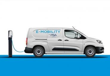 Groupe PSA lanzará las versiones 100% eléctricas de sus furgonetas en 2021