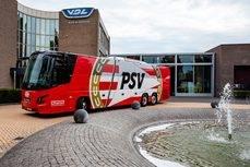 VDL Bus & Coach ofrece un nuevo autocar para el PSV Eindhoven