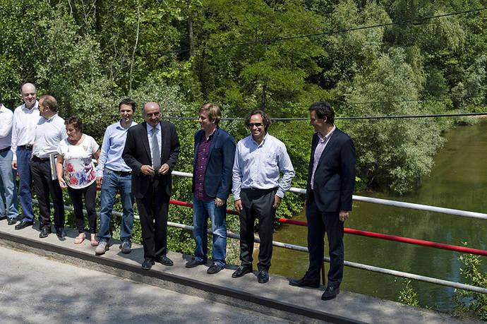 Cantabria invierte 3,8 millones de euros en el nuevo puente de Golbardo