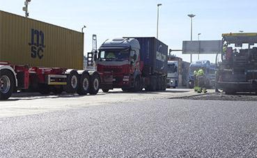 Algeciras mejora la accesibilidad a las terminales de contenedores