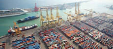 Imagen del puerto de Castellón