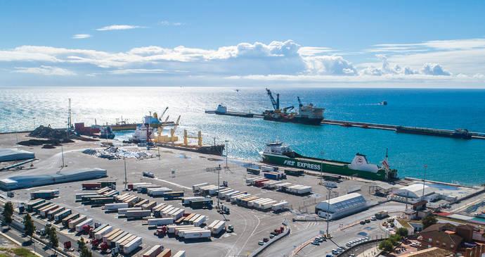 563,4 millones de toneladas en 2018, récord de tráfico portuario español