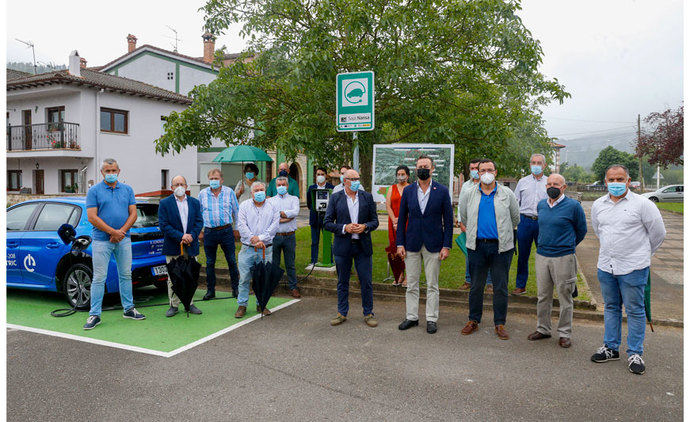 Impulso a la electrificación del transporte en 15 municipios cántabros