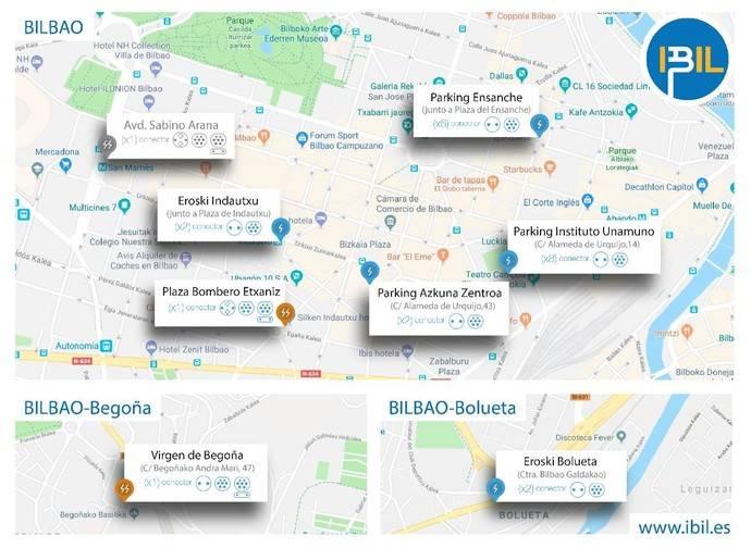 Bilbao, dos nuevas instalaciones de recarga rápida de vehículos eléctricos