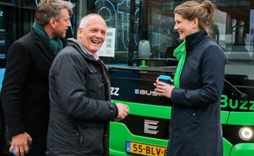 Qbuzz pide 146 autobuses eléctricos para Holanda