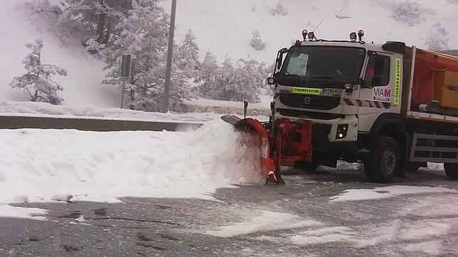 El Ministerio de Fomento se prepara para hacer frente a las nevadas