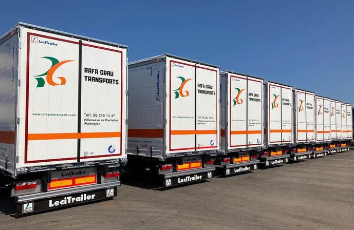 Rafa Grau Transports crece en flota con Lecitrailer