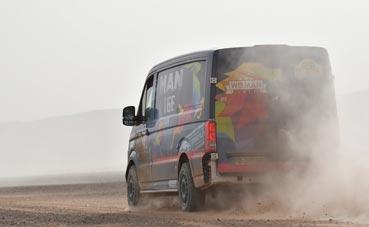 MAN Team sube al podio de la 29ª edición del rally Aïcha