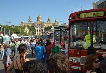 El Strada e-City se presenta en la exposición del Rally de Autobuses