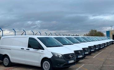 Autolica entrega una flota de furgonetas eléctricas
