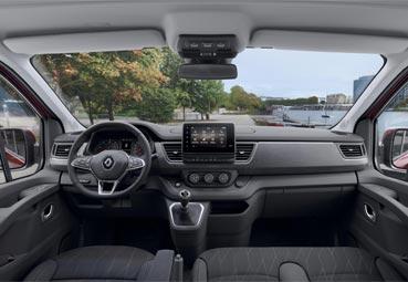 Renault presenta las nuevas versiones de la Trafic Combi y la SpaceClass