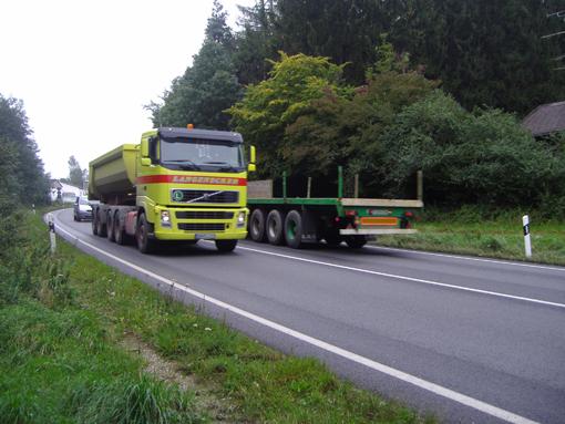 Las flotas del Este de Europa copan el 30% del transporte internacional español