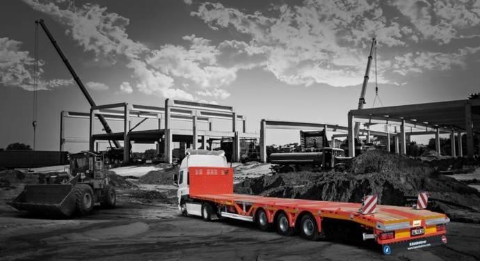 Kässbohrer presentó cuatro vehículos para el sector de la construcción