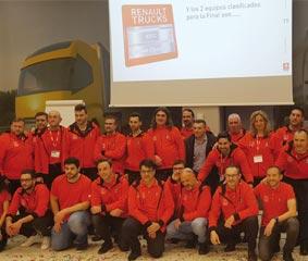 Talleres Craf y Renault Trucks Center, representantes españoles en la final del RTEC