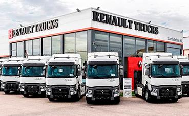Renault Trucks colabora con la Diputación de Badajoz
