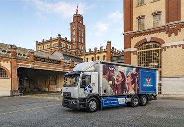 Renault Trucks ayuda al Grupo Carlsberg a reducir sus emisiones