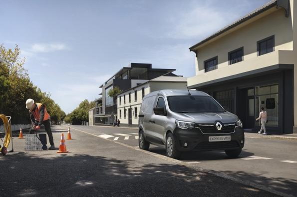 Renault comerciales: nuevo exprés furgón en la gama furgonetas